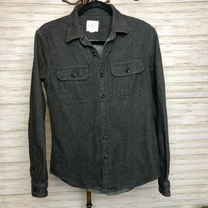 American Eagle heavy weight button down shirt